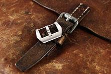 ,PRE-V - brushed / verschraubte Uhrenschließe / 316L Edelstahl