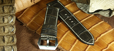 Exotic watch strap banner